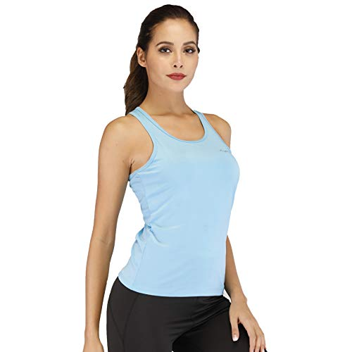 Sleeveless Scoop Neck Workout Tank Top for Women $5.49 (50% Off with code)