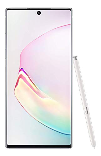 Samsung Galaxy Note 10+ Plus 256GB  12GB RAM 6.8u0022 Unlocked Smartphone - Aura White