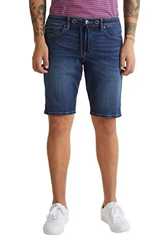 edc by Esprit 030CC2C307 Shorts, Herren, Blau 31 EU