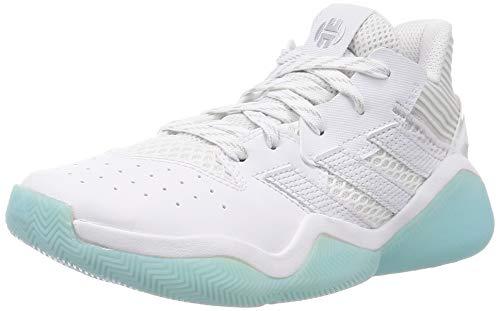 adidas Harden Stepback J, Zapatillas, FTWBLA/Plamet/MATCIE, 38 2/3 EU