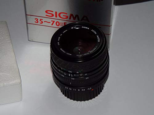 Objektiv für PRAKTICA - Sigma Zoom Master 1:3.5-4.5 f=35-70mm Multi Coated Ø 52mm