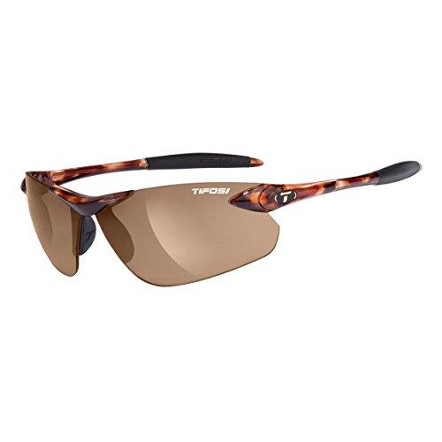 Tifosi Seek FC 0190401071 Wrap Sunglasses,Tortoise Frame/Brown Lens,One Size