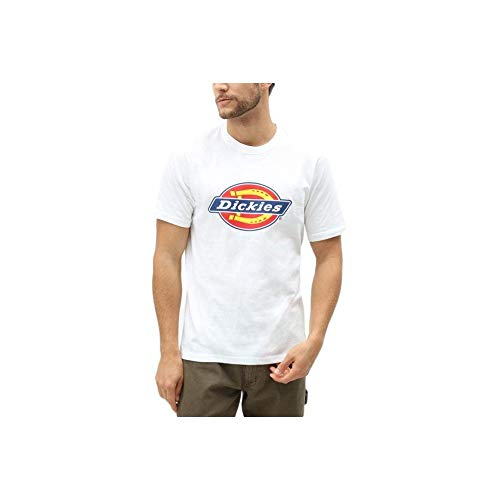 Dickies - T-shirt - Empire - Manches courtes - Homme - Blanc (White) - Large (Taille fabricant: Large)
