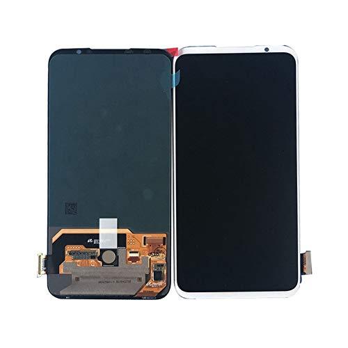 lilili Mostrar El Conjunto De Vidrio Táctil 6.2 '' FIT Original para El Reemplazo del Teléfono Ensamblaje Panel Pantalla Pro LCD Fit For Meizu 16S Reemplazo de Pantalla LCD (Color : Black no Frame)