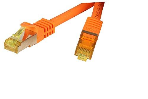 Ligawo - Cable de pares trenzados (0,25 m, cat. 6a, cat. 6a,...