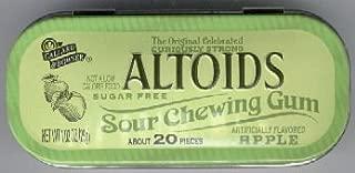 ALTOID ALTOIDS SOURS SOUR APPLE CHEWING GUM RARE DISCONTINUED CANDY APPLE