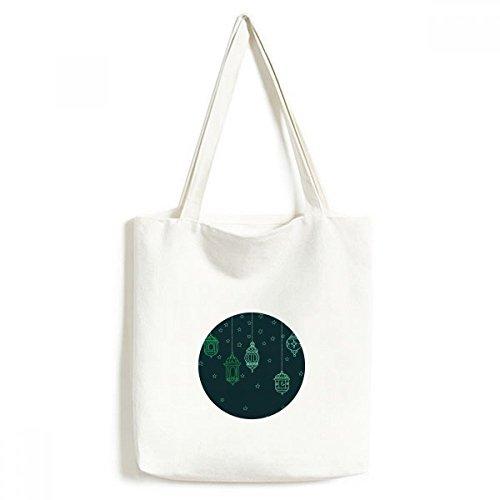 DIYthinker Laterne einfache geometrische Formen Muster Environmentally Waschbar Einkaufs-Tasche Fertigkeit-Geschenk 33 * 40cm Mehrfarbig