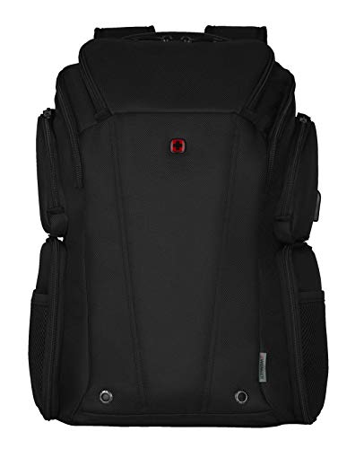 WENGER, BC Class, 14'' - 16'' Laptop Backpack with Tablet Pocket, Black ( R )