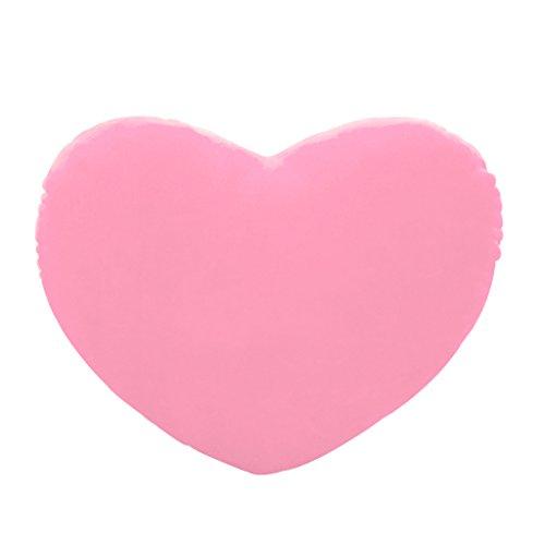 haohao3 Almohada en Forma de corazón, 20 cm Forma de corazón Cojín Decorativo PP Algodón Suave Creativo Muñeca Amante Regalo Rosa