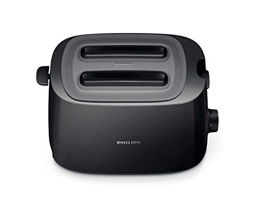 Philips Daily Collection HD2582/90 tostapane 2 fetta/e Nero 830 W
