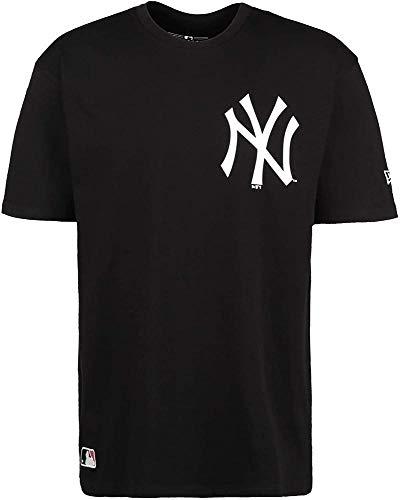 New Era MLB Big Logo Oversized tee Neyyan Camiseta de Manga Corta, Hombre, Black, S