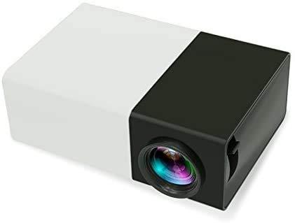 Reg;[Mini portátil de proyectores LED], Multimedia portátil proyector LED con PC portátil USB/SD/AV/Entrada HDMI proyector de Bolsillo for el Video Juego de la película Home Entertainment Projet