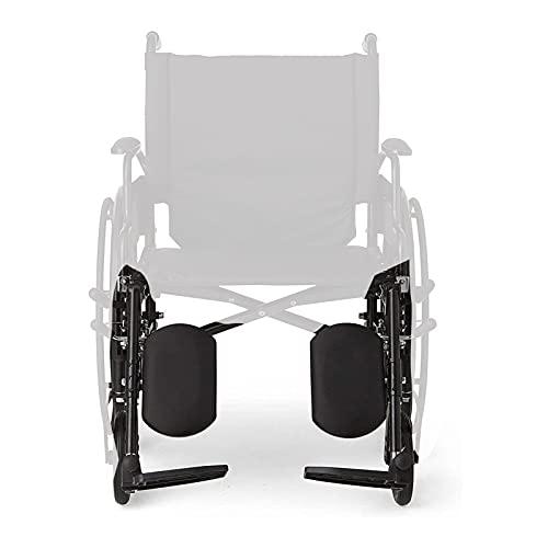Reposapiés / reposapiés elevado para silla de ruedas, reposapiés para silla de ruedas, reposapiés para silla de ruedas plegable y bariátrico para trabajo pesado Reposapiés autopropulsado para pierna