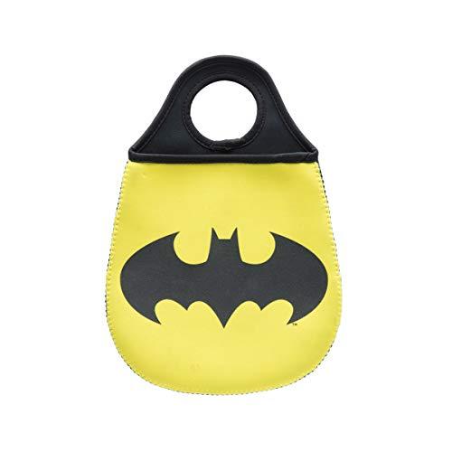 Urban Lixeira De Carro Batman Logo Amarelo Neoprene