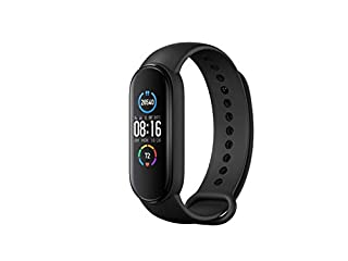 Xiaomi Mi Band 5 Smart Wristband 1.1 inch Color Screen Miband with Magnetic Charging 11 Sports Modes Remote Camera Bluetooth 5.0 Global Version - Black (B089NS9JW2) | Amazon price tracker / tracking, Amazon price history charts, Amazon price watches, Amazon price drop alerts