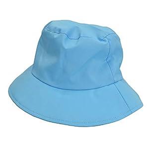 小川(Ogawa) 子供用レインハット 雨用帽子 キッズ Mサイズ/Lサイズ(KH-RH ブルー/Mサイズ)