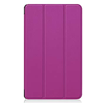 INSOLKIDON LG Gpad F2 8.0 Case Bumper Full Body Protection Leather Protective Case Tablet Holder Shell Protector case Support Shell for LG LK460  Purple