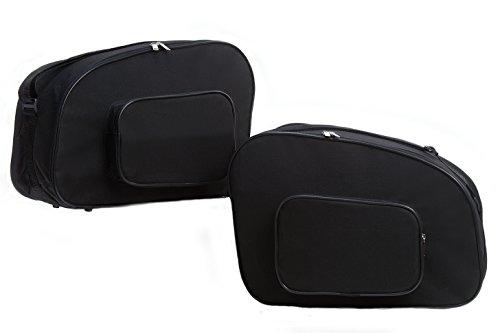 Bolsas, bolsillos interiores adecuados para maletas laterales moto BMW R100R, K75, K100, K1100RS, K1100LT - No. 4
