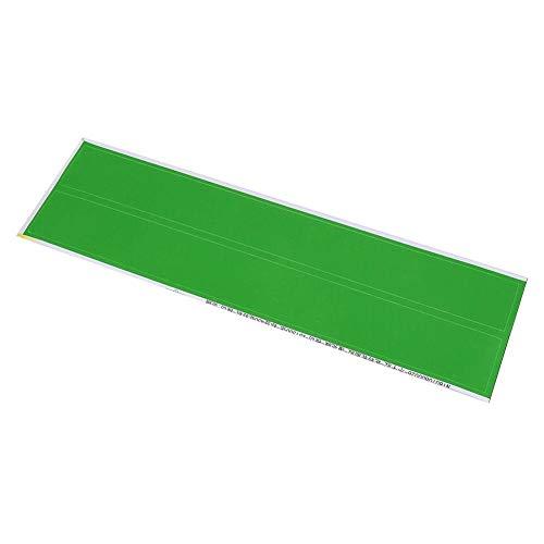 12 Stücke 5-Color Bogenschießen Pfeil Aufkleber Klebstoff DIY Welle Werkzeug Männer Frauen Outdoor Jagd Zubehör(Grün)