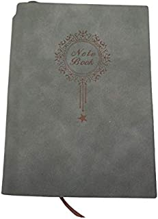 Soft Cover Notebook, Pen Can Putted Into Notebook Travel Journal Diary Notebook (dark green)