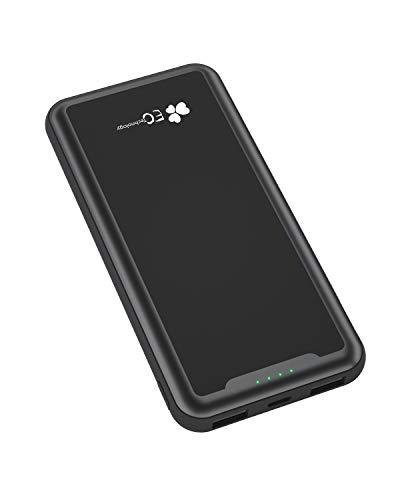 EC TECHNOLOGY Batería Externa 15000mah de PowerBank de diseño Bolsillo de Doble Salida USB 2.4A Cargador Móvil Portátil de Portable Charger de Bateria Portatil Carga Rapida para Smartphone y Tablet