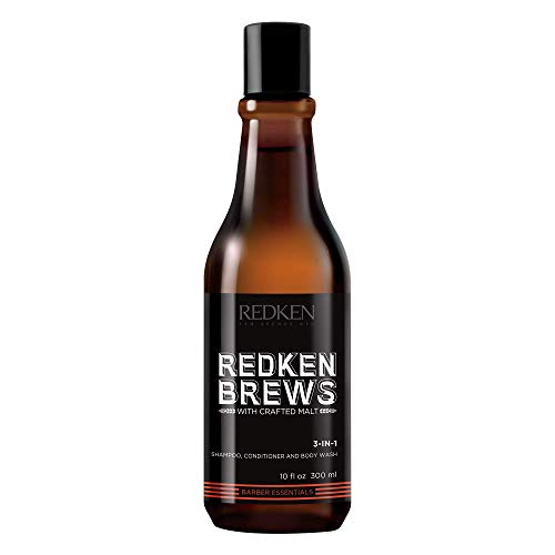 REDKEN | Brews | Men's 3-In-1 Shampoo | Cleanse and Soften Your Hair and...