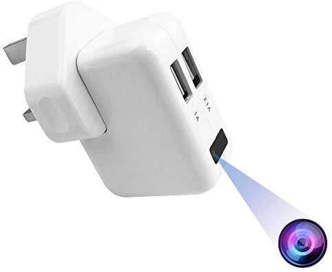 FiveSky HD 1080P The Smallest Wifi Spy Hidden Adapter Camera Motion...
