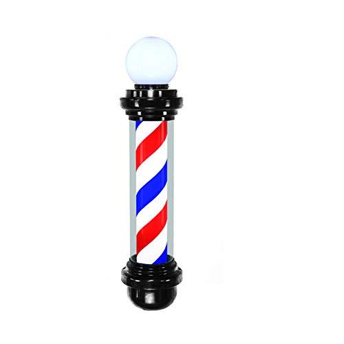 WANGXN LED Barber Pole met lamp rood wit blauw voor kapsalon kapper kapper schoonheidsteken