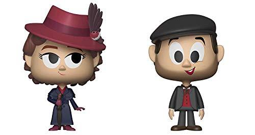 """Funko 34222 VYNL 4"""" 2-Pack: Disney: Mary Poppins: Mary & Jack, Multi"""