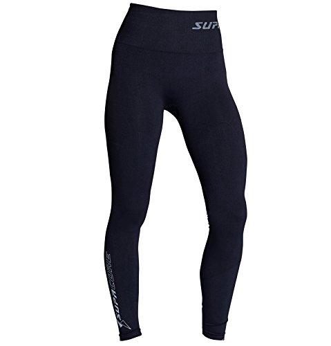 SUPACORE Coretech Kompressions-Leggings für Damen, die weltweit einzige medizinische Qualität, Nahtlose Kompressionskleidung für Sport, Workouts und Erholung (Black, XL)
