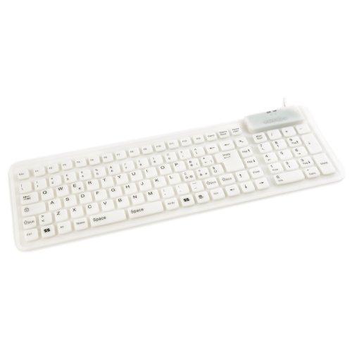 Kraun Tastiera Flex Rubber (White)