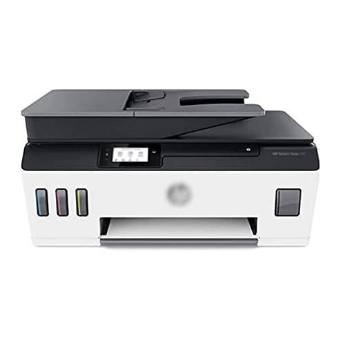 WJYZYHM Impresoras Impresoras Impresora Color Copiador Escáner Escáner Inicio Estudiante Oficina Teléfono móvil Inalámbrico All-in-One Photo A4 Impresoras multifuncionales, fácil de llenar tinta, fáci