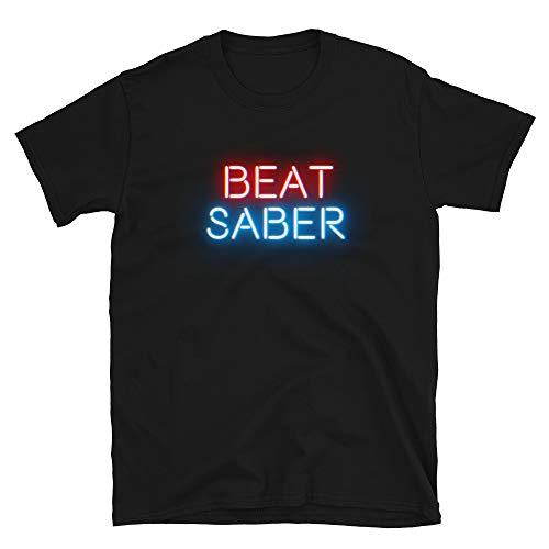 Beat Saber Virtual Reality Gaming T Shirt | for Oculus Quest PSVR AMVR OCULAS RIFT OCULOUS RIFT S PSVR Gamers Black