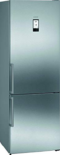 Siemens KG49NAIDP iQ500 frigorifero freezer, freezer, d 207 kWh anno, 438 l, hyperFresh Plus, noFrost illuminazione interna a LED Touch Control