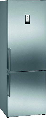 Siemens KG49NAIDP iQ500 Freistehende Kühl-Gefrier-Kombination / A+++ / 202 kWh/Jahr / 435 l / hyperFresh Plus / noFrost / LED-Innenbeleuchtung / touchControl