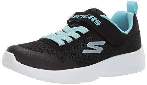 Skechers Dynamight Lead Runner, Scarpe da Ginnastica Bambina, Blk, 29 EU