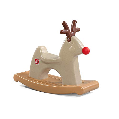 Step2 Rudolph The Rocking Reindeer Toy, Brown