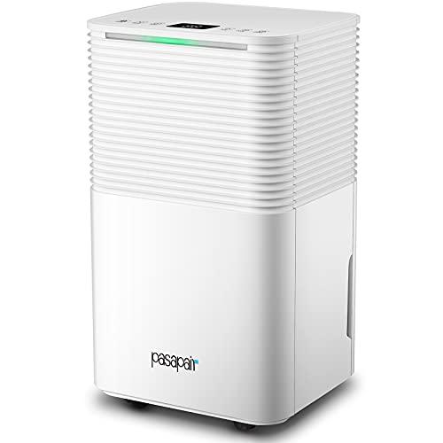 Deumidificatore Elettrico 12L D pasapair alta efficienza serbatoio dell acqua da 2L con modalità di asciugatura filtro lavabile camera da letto guardaroba cucina ufficio soggiorno