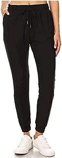 Women's Soft Jogger Pants Drawstring Pockets