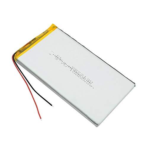 YUJNH 1/2/4 Uds BateríA Lipo Recargable 3,7 V 10000 Mah Tableta BateríA De PolíMero De Litio para Tableta DVD GPS Juguetes EléCtricos 4Pcs