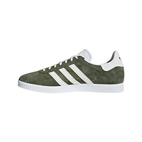 Adidas Gazelle, Zapatillas de Deporte para Niños, Verde (Verde 000), 37 1/3 EU