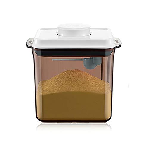 Milky Bottle Milk Powder Formula Dispenser Container with Scraper Airtight 600g 1700ml