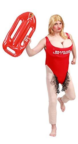 FIESTAS GUIRCA Costume bagnino bagnina salvataggio Guarda spiaggia con peli