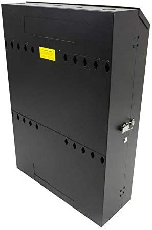 RackSolutions Low Profile 5U Vertical Wall Mount Network Rack Cabinet 30-Inch Depth for Patch Panel and Switches