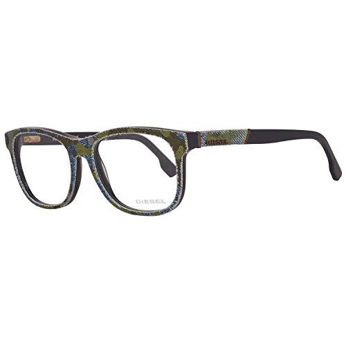 Diesel Brillengestelle DL5124 52092 Rund Brillengestelle 52, Mehrfarbig
