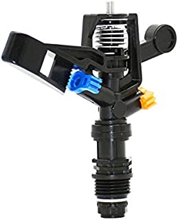 """YISENMIAO Male Thread 1/2"""" Rotating Sprinkler Nozzles Rocker Nozzle Garden Lawn Sprinkler Garden Greenhouse Watering Plant..."""
