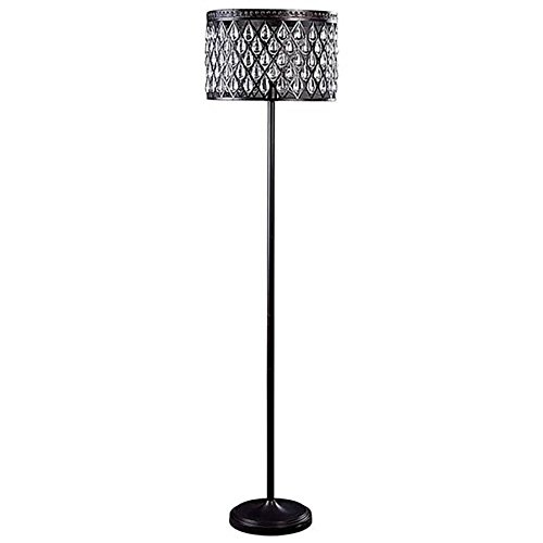 Floor Lamp with Metal Shade