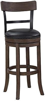Amazoncom Ashley Furniture Signature Design Pinnadel Swivel Bar