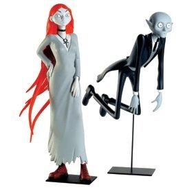 Statuette Résine Démons & Merveilles Joann Sfar Grands Vampires et Aspirine 26 cm