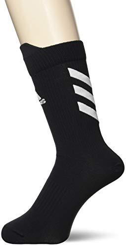 adidas Ask Crew UL S Socks, Unisex Adulto, Black/White/White, XXL